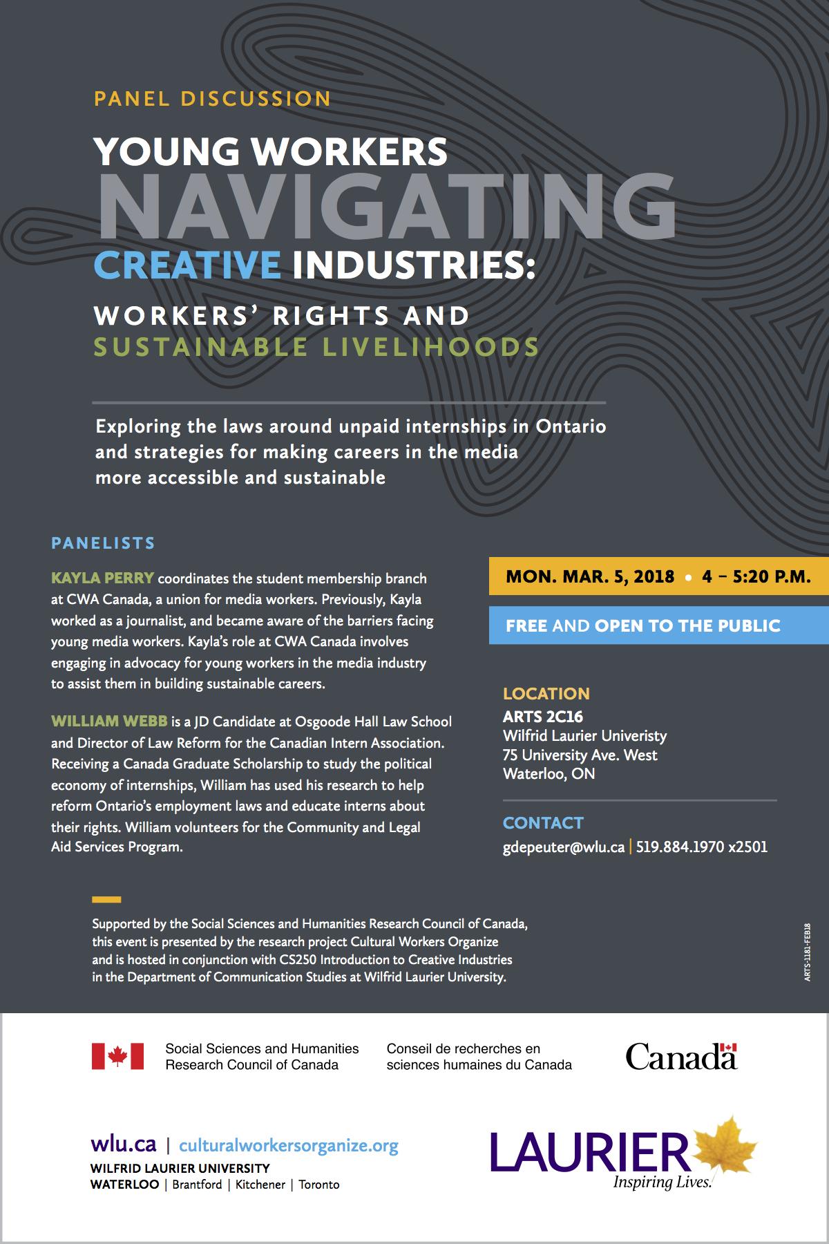 YoungWorkersCreativeIndustriesSustainableLivelihoods